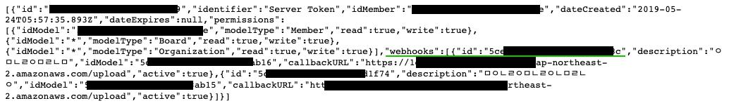 WebhookList